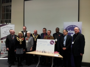 Bishops and Mayors Pledging Their Support